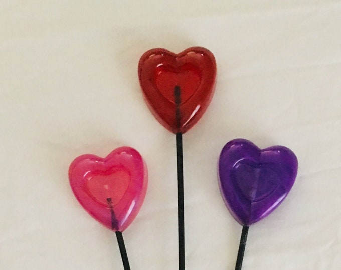 Wicked Wands - Large Hearts
