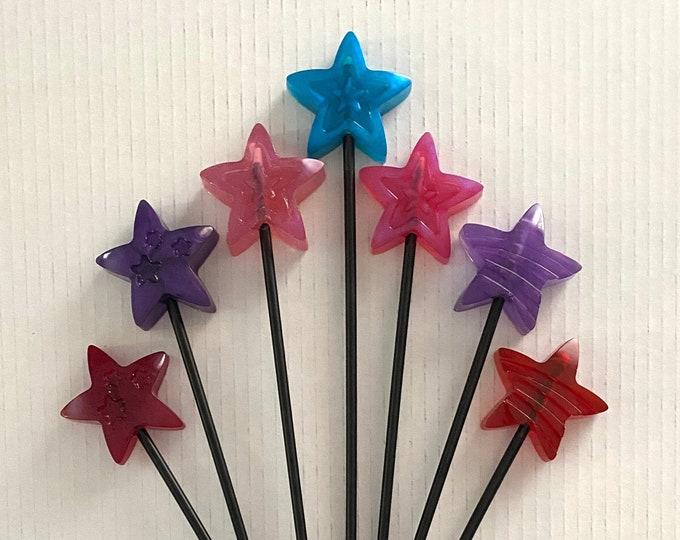 Wicked Wands - Pattern Stars