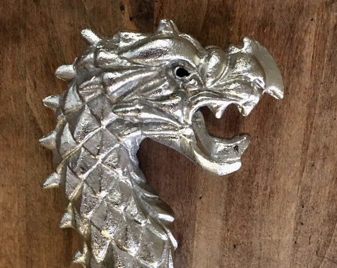Silver Scale & Black Dragon Flogger