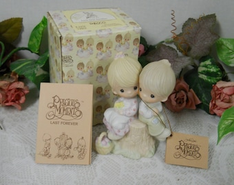 "Vintage 1978 Precious Moments E-1376 - ""Love One  Another""- IOB"