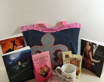 A Touch of Romance Book Lover's Gift Set/Romance Signed Book with Swag/Bibliophile Gift/Book Lover's Subscription Box/Romantic Suspense