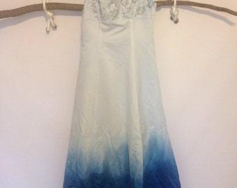 Custom Dip Dyed Wedding/Prom Dress