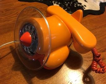 Awesome Vintage Airplane Phone Northern Telecom