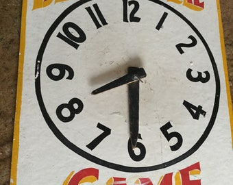 Vintage Carnival Sideshow Game Sign, Freak Show, Midway, Circus