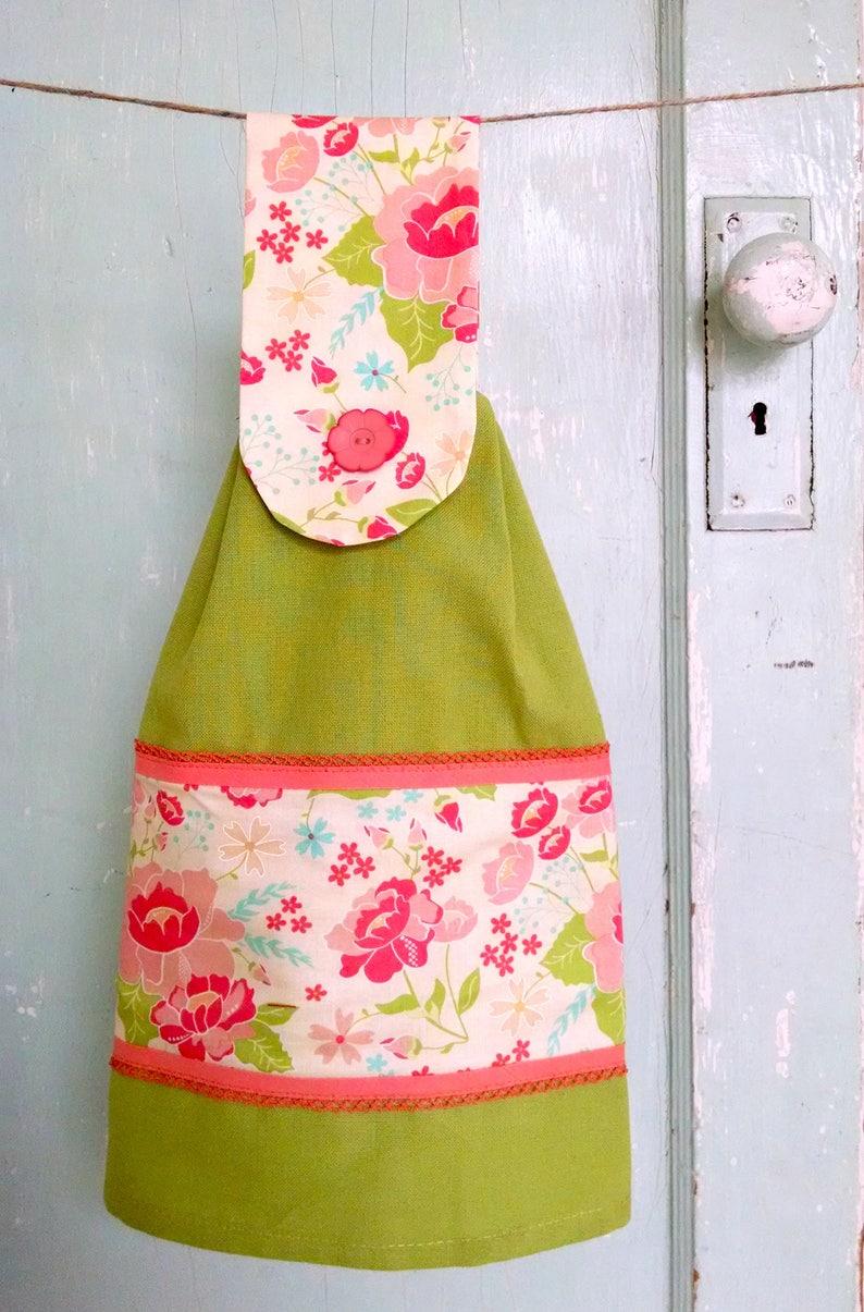 NEW PDF Hanging Towel Pattern  Sewing Pattern  Kitchen  Gift Idea  Tea  Towel