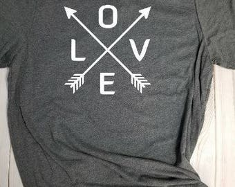 T-shirt- Love XOXO! Choose your own color!