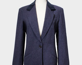 size 40 Checkered wool jacket from KL by Karl Lagerfeld