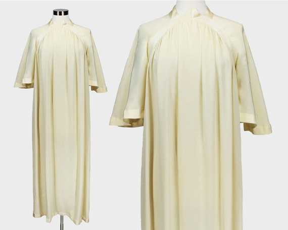 A Quorum Vintage 1960s Kaftan Maxi Dress Butter Ye