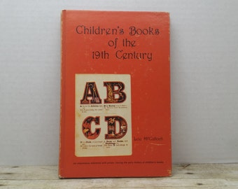 Children's Books of the 19th Century, 1979, Lou McCulloch, vintage kids reference book