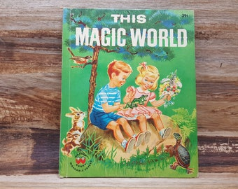 This Magic World, 1959, Wonder book, vintage kids book