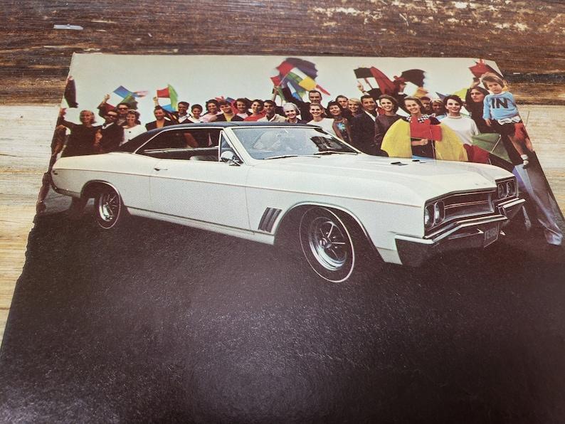 Buick GS-400 vintage Buick ad 1967 Vintage Car Magazine Ad