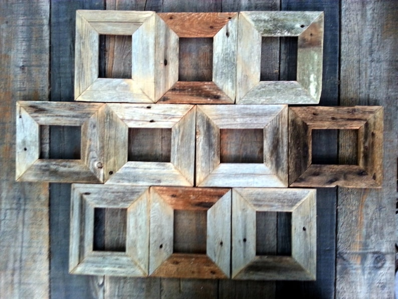 Reclaimed wood frames image 0