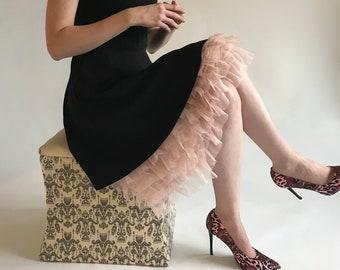 Pink Ruffles Dress Extender