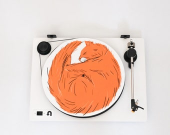 Turntable Slipmat: Cat