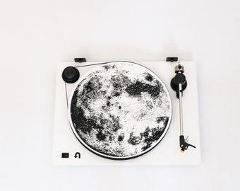 Turntable Slipmat: The Moon