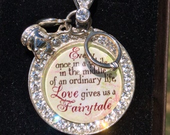 Once Upon a Time Fairytale Love Necklace for Her