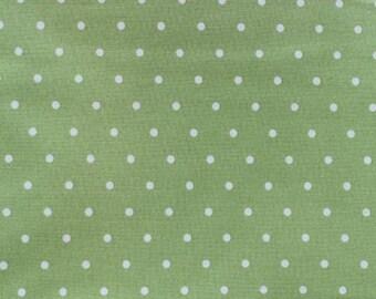 Tanya Whelan Fabric Barefoot Roses Legacy Green Dot D1705-0408