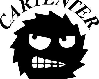 Carpenter Sticker Etsy