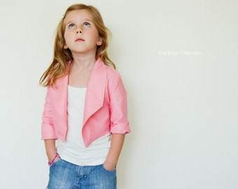Haute Hippie Crop PDF pattern and tutorial - sizes 2t-10 - childrens sewing pattern - Instant download