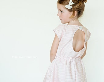Wednesday Dress PDF pattern and tutorial - sizes 12M - 10, childrens sewing PATTERN - Instant download