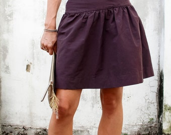 Basics. DropSkirt WOMENS PDF pattern and tutorial - sizes xxs - xxl sewing pattern, instant download