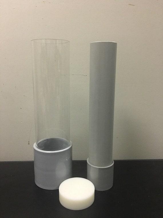 Cylindrical Acrylic Soap loaf mold