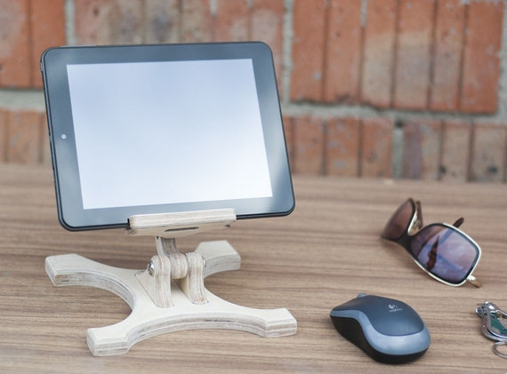 Smartphone iPad Stand Ideas for gifts Wood Kitchen Samsung stand Wedding  gift Office wood stand iphone stand Dock station stand Organization