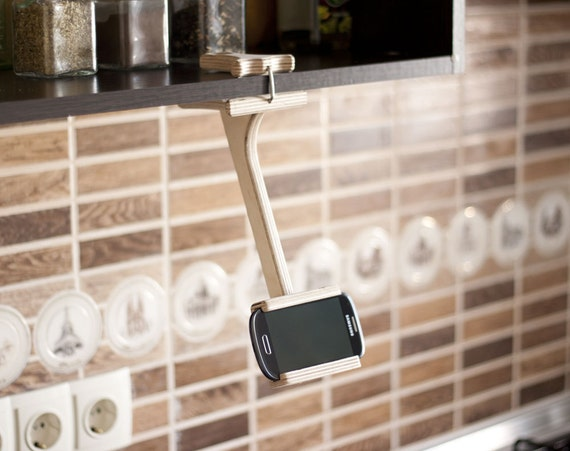 Сookbook stand Shelf tablet holder Ipad stand Iphone stand Kindle on kitchen tablet mount, kitchen tablet stand, kitchen laptop holder, kitchen tablet case, kitchen tablet recipe,