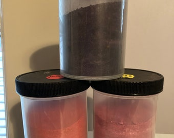 CUSHING ORDINARY DYES 8 oz, in jars, at bargain pricesfor rug hooking and other crafts