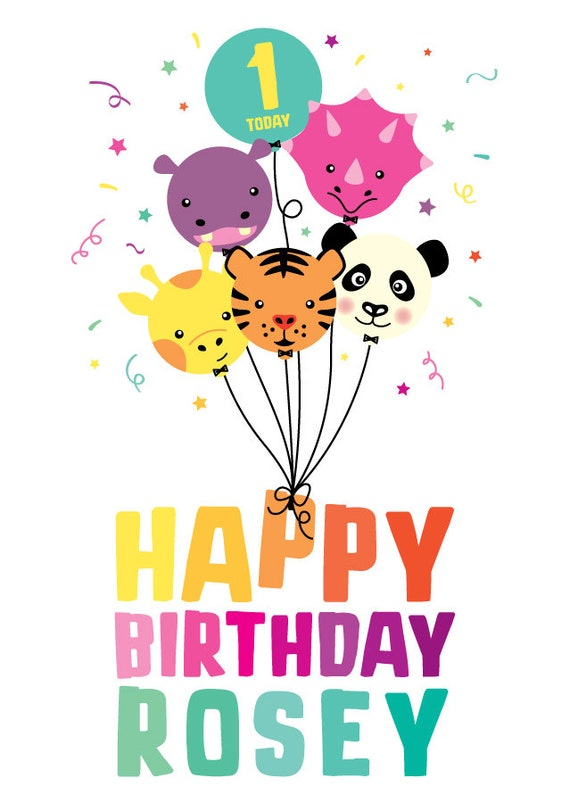 5th Granddaughter Birthday card ~ 1st 3rd 4th 6th ~ cute design 2nd