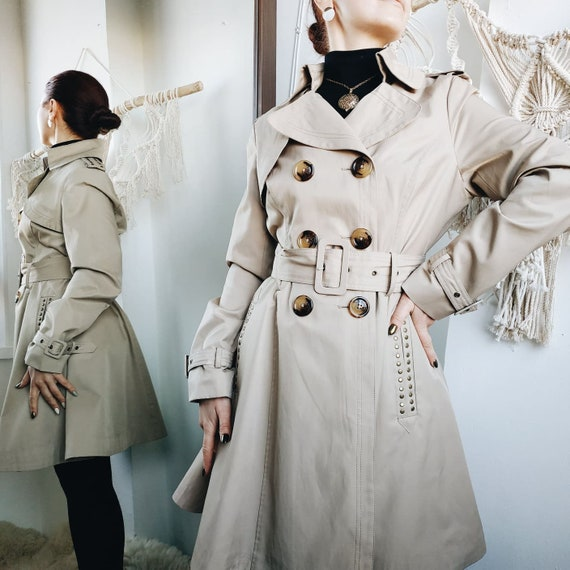 Black Friday sale / BEIGE TRENCH COAT / beige jack