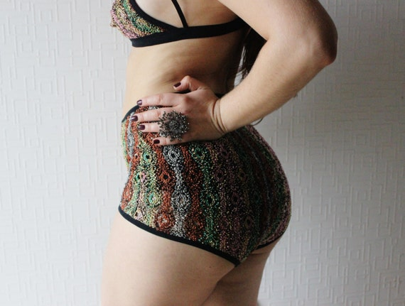 AFRICAN PRINT CLOTHING lace panties high waisted  c1ae62f9a