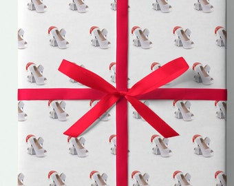 Ladies Shoe Christmas Wrapping Paper  - Pack of 3 or 5 sheets - Presents - Gifts - Christmas - Gift wrap - Shoes - Heels - Christmas shoes