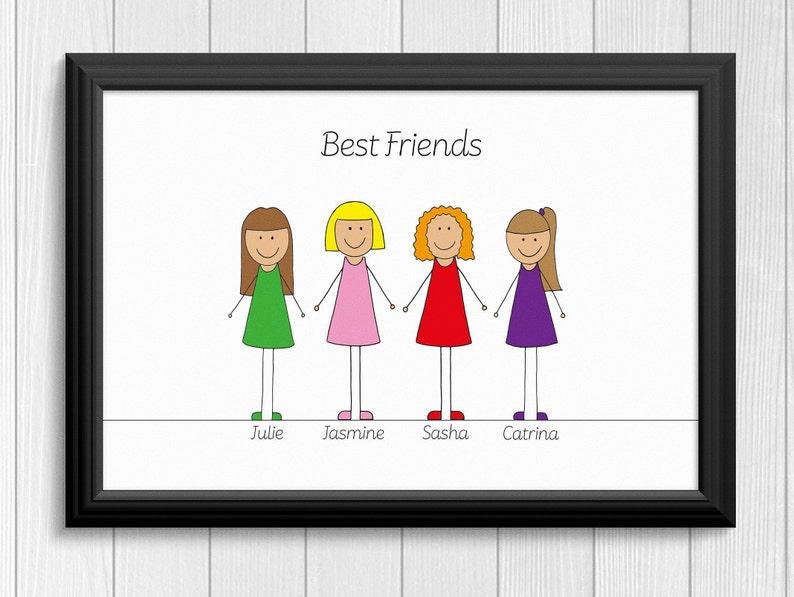 View Best Friends Cartoon Images  PNG