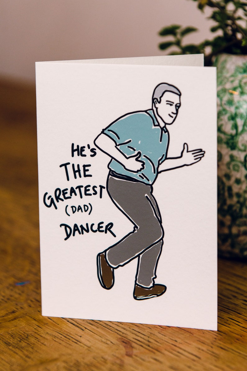 He's the Greatest Dad Dancer image 0