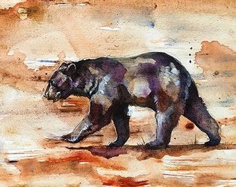 Black Bear Original Painting