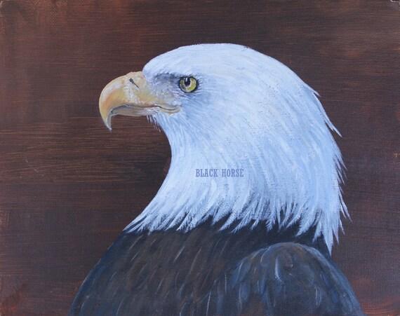 Eagle Digital Painting Art