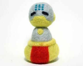Needle Felted Zenyatta Overwatch Doll [MADE-TO-ORDER]