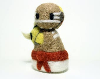 Needle Felted Doomfist Overwatch Doll [MADE-TO-ORDER]