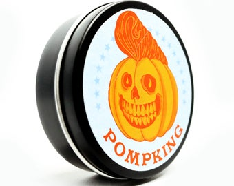 Hair Pomade, Pumpkin spice scented pomade Super Heavy hold