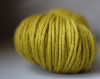 MILKMAN'S HORSE, 2 available, 2OAK, batch 220921, ~100g, 100% superwash merino yarn, hand-dyed, aran