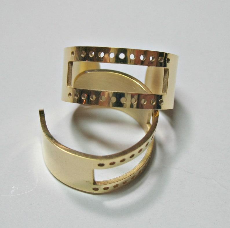 Pack of 2 Open Cuff Bracelets for Beading Bracelet Blanks beadable
