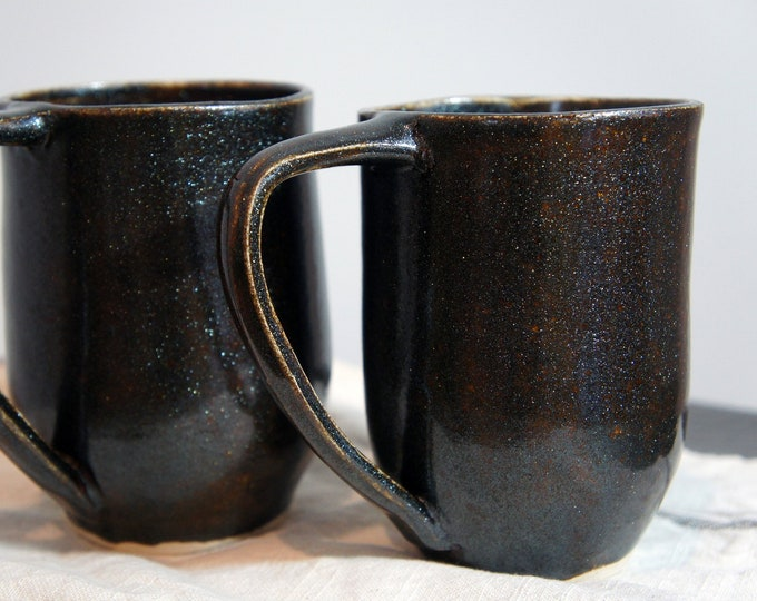 Featured listing image: Cosmic Collection - Shimmer Stoneware Coffee Mug