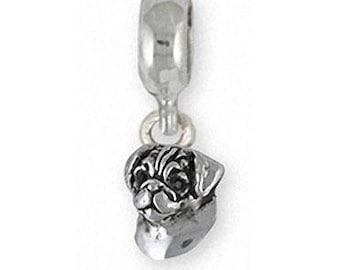 Puggle Angel Pendant Jewelry Sterling Silver Puggle Angel Dog Pendant PGL5-ZTP