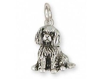 Cavalier King Charles Spaniel Bracelet Jewelry Handmade Sterling Silver CV5-B