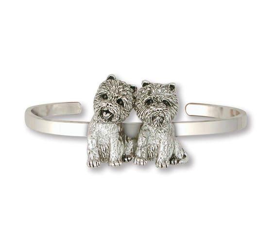 Westie Jewelry Westie Charm Westie Jewelry Westie Bracelet Jewelry Sterling Silver Handmade West Highland White Terrier Bracelet WT7-CB