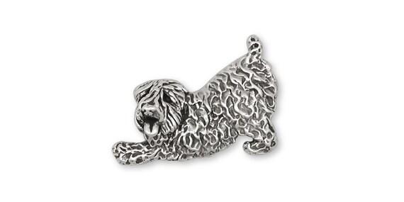 Soft Coated Wheaten Jewelry Soft Coated Wheaten Charm Jewelry Sterling Silver Handmade Dog Charm SCW10H-C