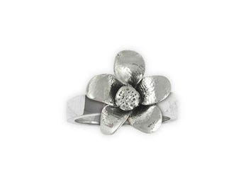 Cherry Blossom Ring Jewelry Sterling Silver Handmade Flower Ring CBB1-R