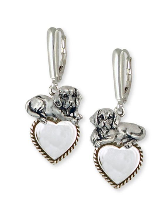 Beagle Dog Charm Jewelry Handmade Sterling Silver  BG19-C