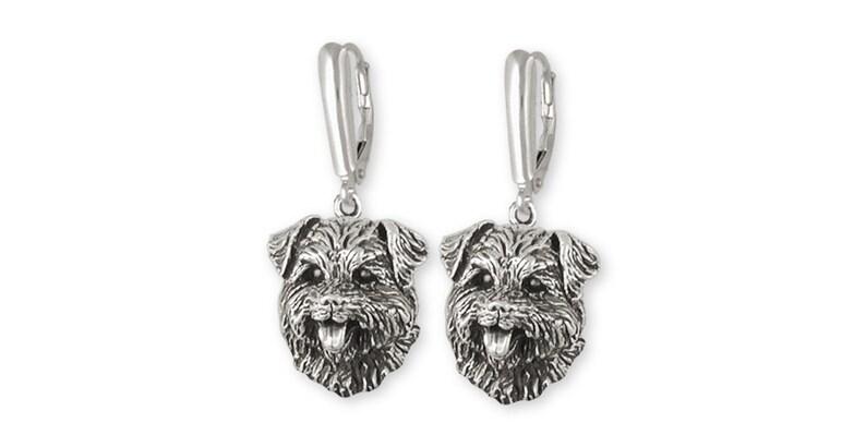 Norfolk Terrier Pendant Jewelry Gold Vermeil Norfolk Terrier Charms And Norfolk